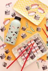 Mama Wata Mama Wata thermische drinkfles 470 ml - Sushi