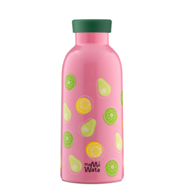Mama Wata Mama Wata thermische drinkfles + tea infuser 470 ml - Fruits