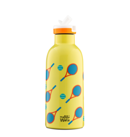 Mama Wata Mama Wata thermische drinkfles + sportdop 470 ml - Tennis