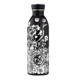 24 bottles Urban bottle - Noir 500 ml