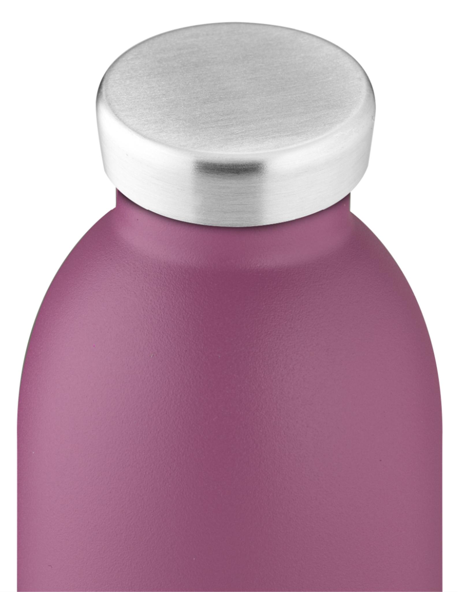 24 bottles Clima bottle - Mauve 500 ml