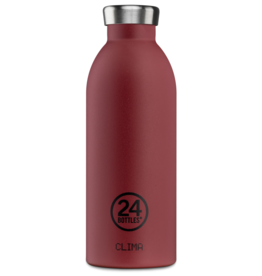 24 bottles Clima bottle - Country red stone 500 ml