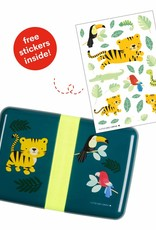 A Little Lovely Company  Lunch box - Jungle tiger