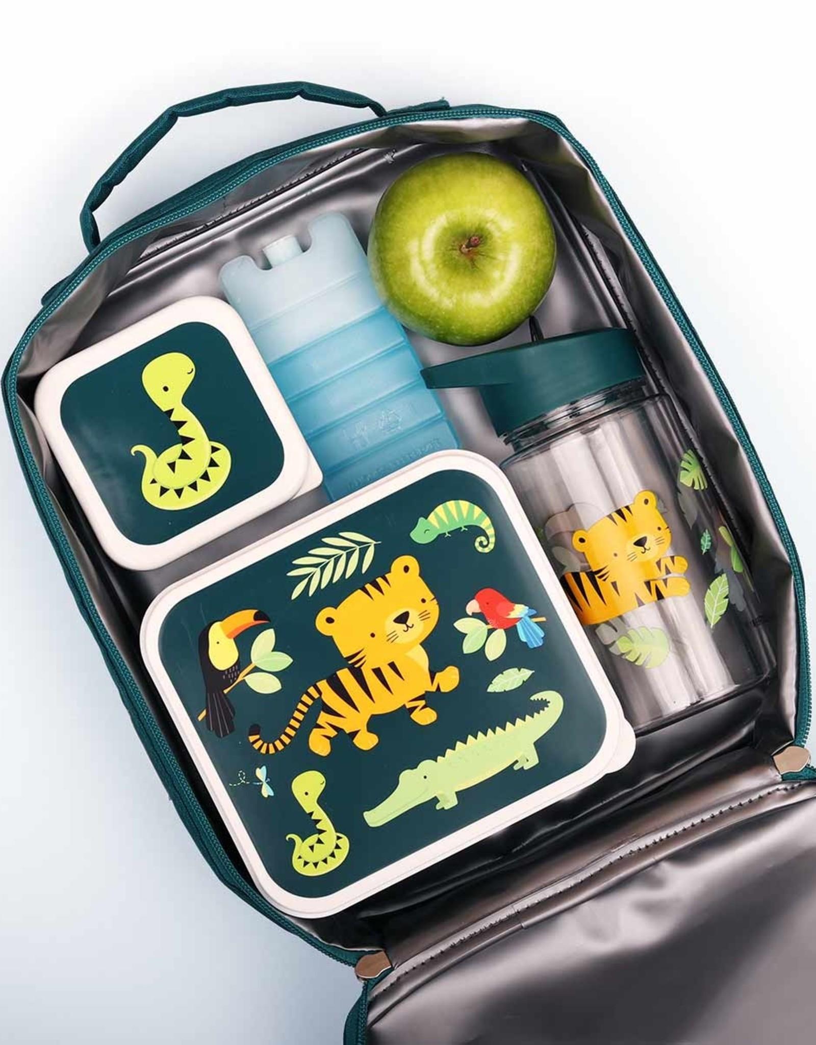 A Little Lovely Company Lunch en snackbox set - Jungle tiger