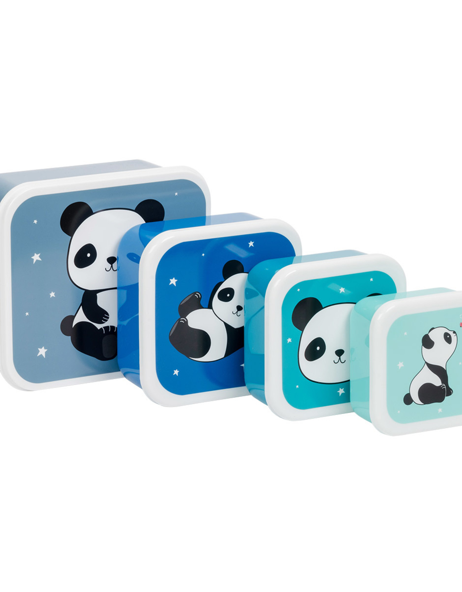 A Little Lovely Company Lunch en snackbox set - Panda