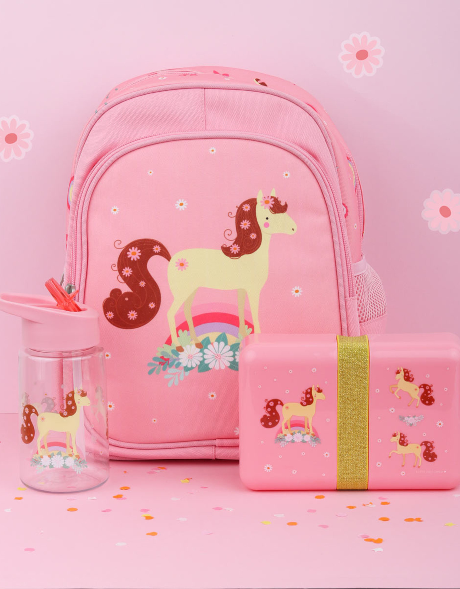 A Little Lovely Company  Lunch box - Horse