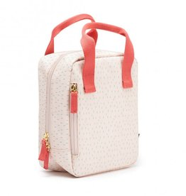 Ekobo Isothermische lunchtas - Dashes blush
