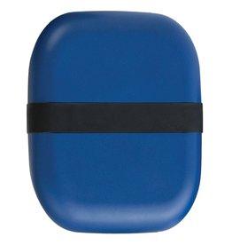 Ekobo Langwerpige bento lunchbox  in bamboe - Royal blue
