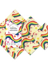 BeeBee & Leaf BeeBee wrap (set van 3) - Rainbow