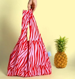 Kind Bag Herbruikbare shopping tas - Zebra