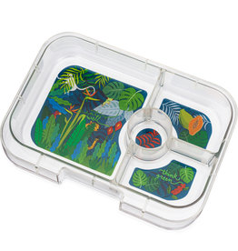 Yumbox Yumbox Panino 4-vakken tray Jungle