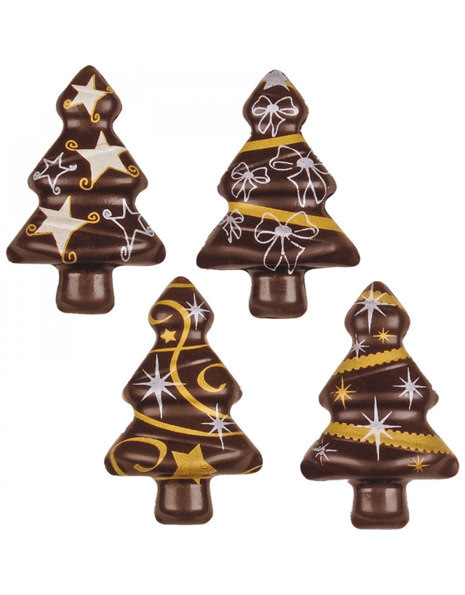 Chocolade kerstboom - 2 stuks