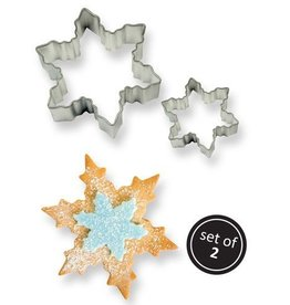 Uitsteker snowflake - Set van 2