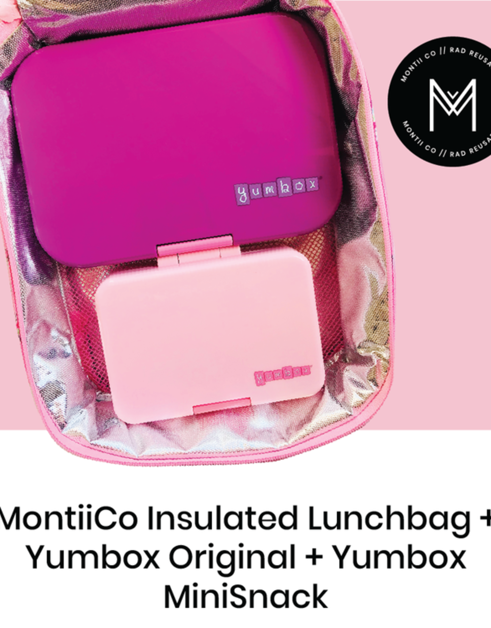 Montii Lunchtas mermaid V2 (inclusief ice pack)