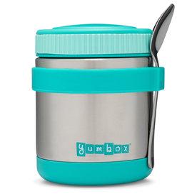 Yumbox Zuppa thermosbeker - Caicos aqua met lepel