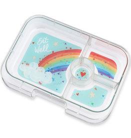 Yumbox Yumbox Panino 4-vakken tray Rainbow