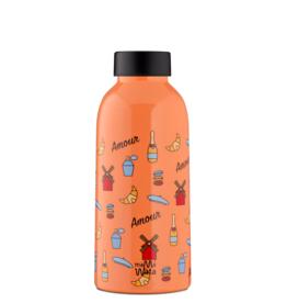 Mama Wata Mama Wata thermische drinkfles 470 ml - Paris