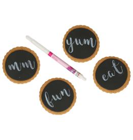 Funcakes Pen met eetbare inkt - Wit