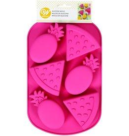 Wilton Siliconen bakvorm watermeloen/ananas