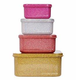A Little Lovely Company Lunch en snackbox set - Gold blush