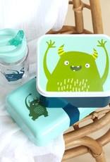 A Little Lovely Company Lunch en snackbox set - Monstertjes