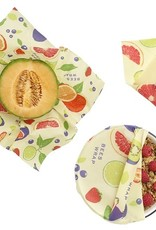Bee's Wrap Bee's Wrap - 3-Pack Assorted Fresh fruit