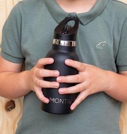 Montii Mini Montii thermische drinkbus - 350 ml zwart