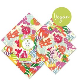 BeeBee & Leaf Leaf wrap (set van 5) - tropical VEGAN