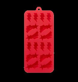 Rice Siliconen vorm Bliksem - Rood