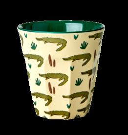 Rice Melamine cup - Krokodil
