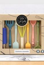 Set keukengerei voor kinderen - 7 stuks