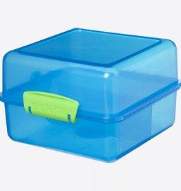 sistema Trends Lunch lunchbox Cube blauw 1.4L
