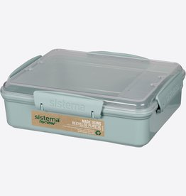sistema Renew Lunchbox Snack Attack duo Sistema - Lichtblauw