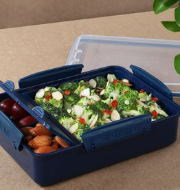 sistema Renew Lunchbox Snack Attack duo Sistema - Donkerblauw