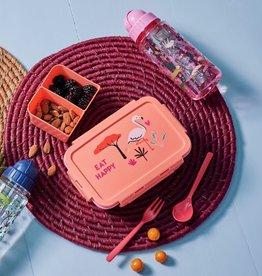 Rice Lunchbox Jungle Animals - Flamingo