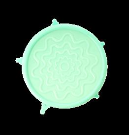 Rice Silicone lid voor medium kommen  (O 14,5 cm) - Groen