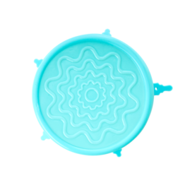 Rice Silicone lid voor medium kommen  (O 14,5 cm) - Turquoise