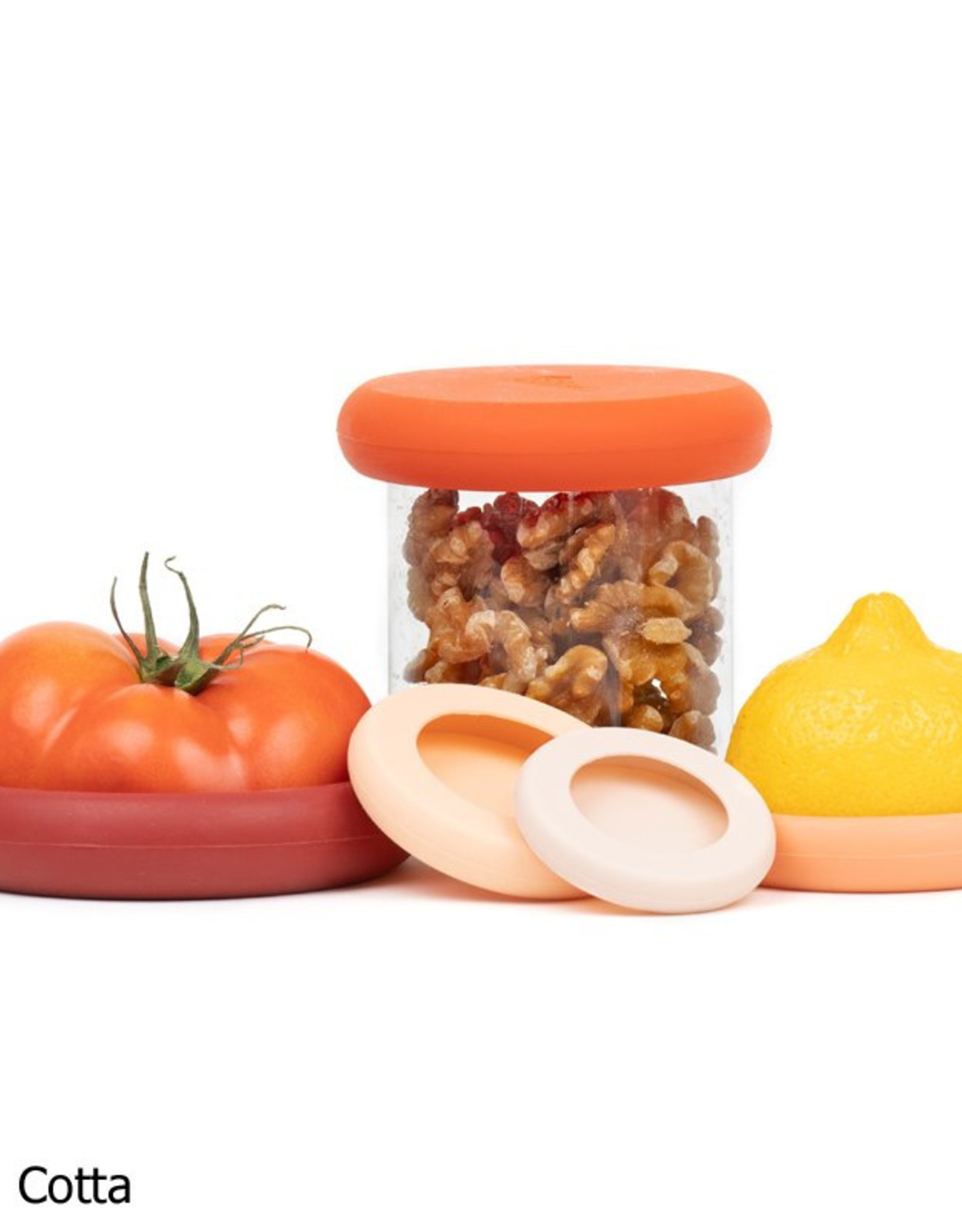 Food Huggers Food Huggers (set van 5) - Terra Cotta