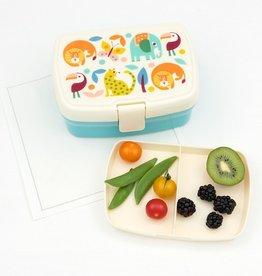 Rex London Lunchbox met tray - Wild wonders