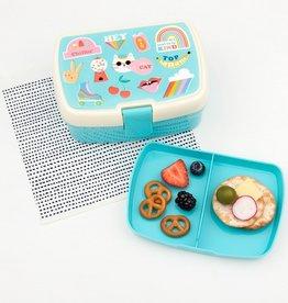 Rex London Lunchbox met tray - Top Banana