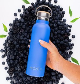 Montii Montii thermische drinkbus - 600 ml Blueberry