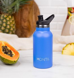 Montii Mini Montii thermische drinkbus - 350 ml Blueberry