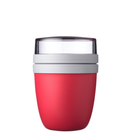 Mepal Lunchpot ellipse - nordic red