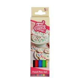 Funcakes Pen met eetbare inkt - set van 5