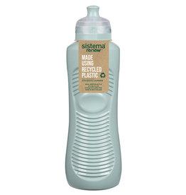 sistema Sistema Renew drinkfles  Gripper 600 ml - Lichtblauw
