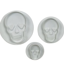 Wilton PME Skull Plunger Cutter Set/3