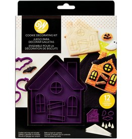 Wilton Cookie Kit Haunted House Set/12