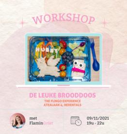 FLINGO Workshop 'De leuke brooddoos' - Di 09/11 19u