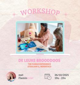 FLINGO Workshop 'De leuke brooddoos' - Di 26/10 19u
