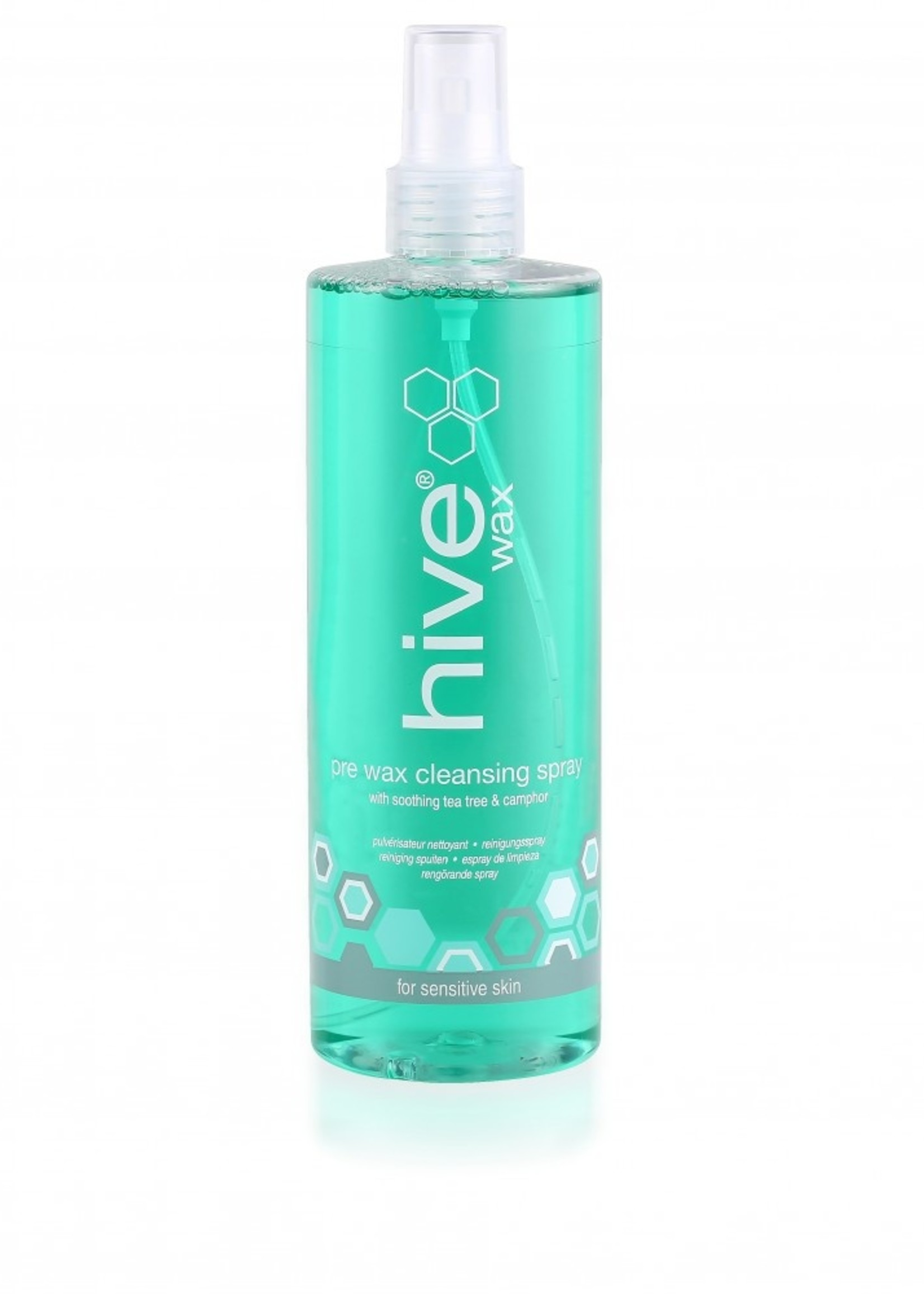 Hive of Beauty Pre Wax cleansing spray with Tea Tree oil 400ml